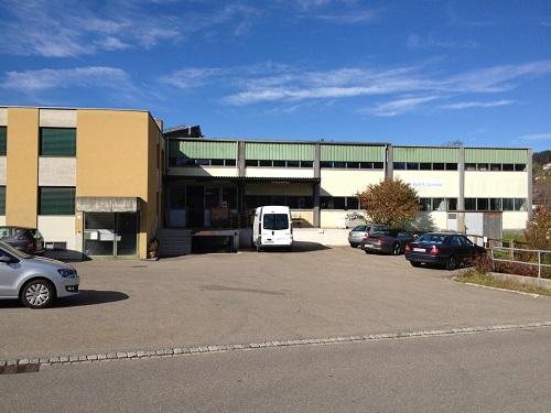Firmengebäude der Firma P. Ries GmbH